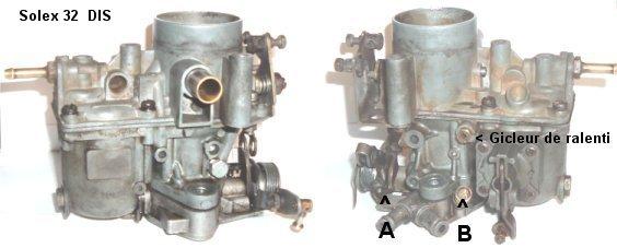 reglage carburateur solex simple corps