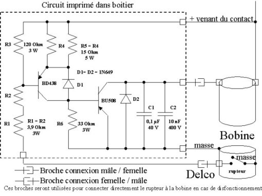 Schema demarreur electronique