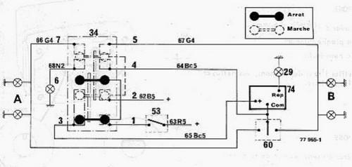 clignotants  montage d u0026 39 une centrale universelle boitier plastique 4 broches